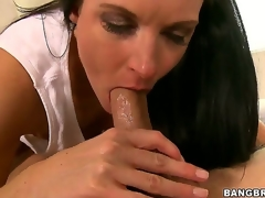Nice-looking milf India Summer learns that its juvenile Seths birthday, and she gives him something to remember - an epic oral job that makes him cum harder than ever in his life!