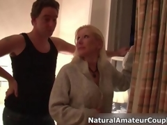 Diminutive blonde girl fucked be useful to the cunning clip